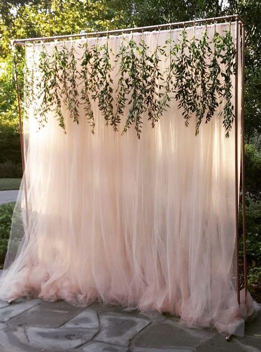 Арка для свадьбы из тюли просто своими руками
